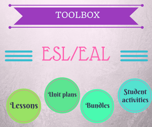 Get your ready to use ESL resources