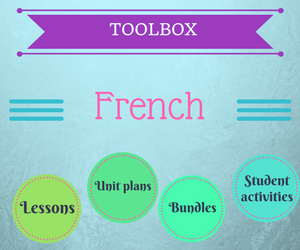 Get your ready to use French resources