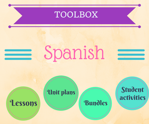 Get your ready to use Spanish resources